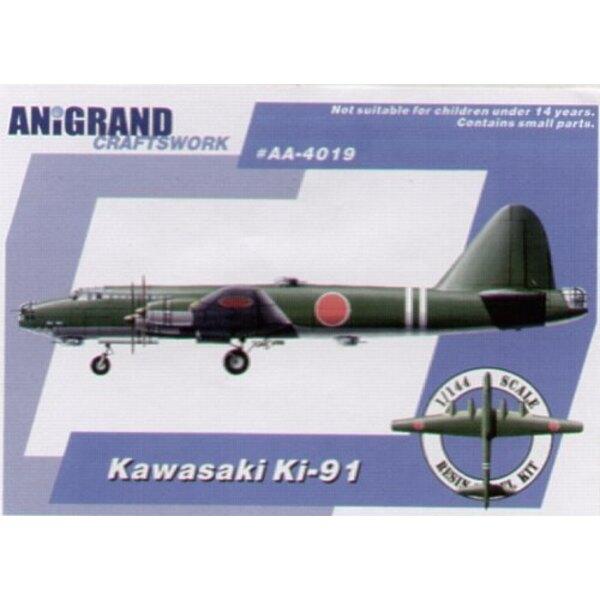 Kawasaki Ki-91. Also includes BONUS kits of the Kayaba Kkatsuodori Nakajima Ki-201 and Kawasaki Ki-108. In early 1943 as the war