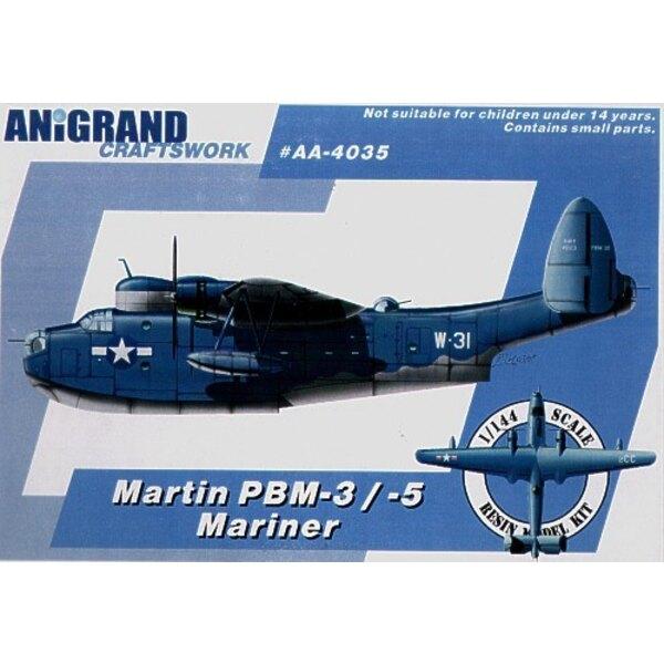 Martin PBM-3/5 Mariner. Also includes BONUS kits of the Douglas XTB2D-1 Skypirate Curtiss SB2C-3 Helldiver and Grumman F7F-1 Tig
