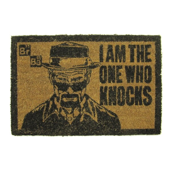 Breaking Bad Doormat I am the one who knocks 40 x 60 cm