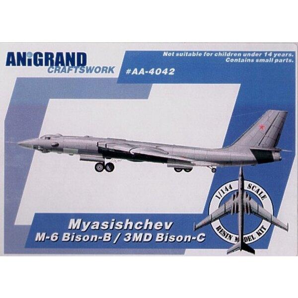 Myasishchev 3MD Bison-B/C. Also includes BONUS kits of the Yakovlev Yak-27K Flashlight Yakovlev Yak-28-64 and Tysbin LL-3. Aircr