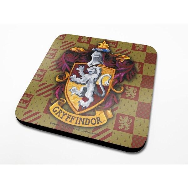 Harry Potter Coaster Gryffindor Crest 6-Pack