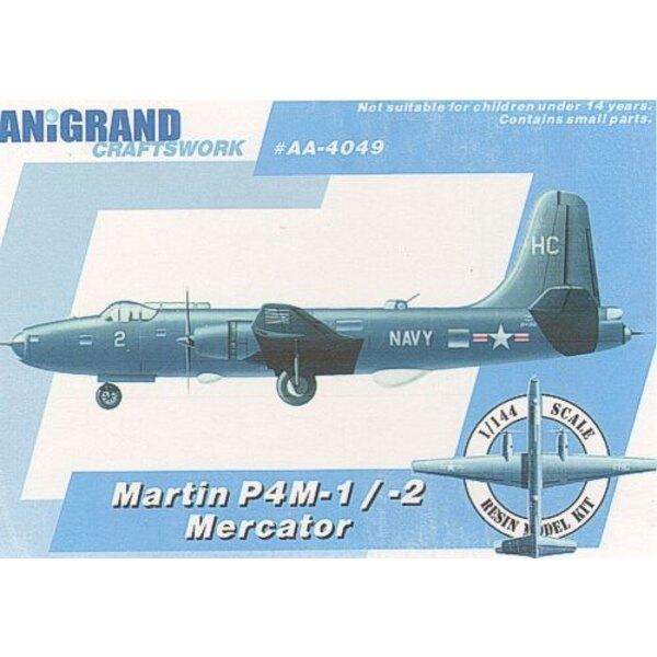Martin P4M-1/-2 Mercator. Includes BONUS kits of Grumman XTB2F-1 Douglas XSB2D-1 Destroyer Brewster SB2S-4 Buccaneer In 1944 the