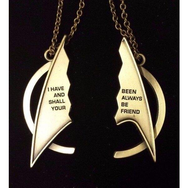 Star Trek Friendship Necklace Delta