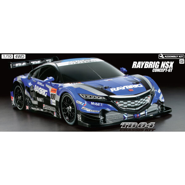 RC RAYBRIG NSX Concetto TB04