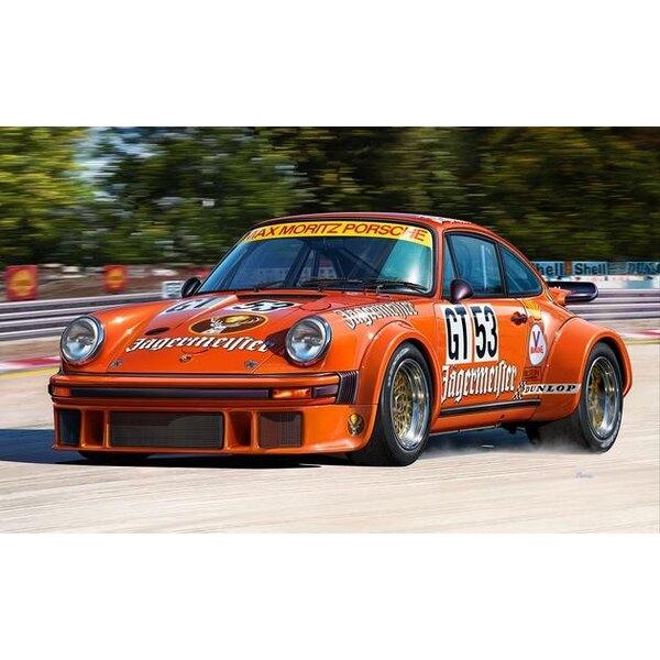 Porsche 934 RSR Jägermeister Un facile costruire kit di modello di costruzione di questo successo Gruppo 4 auto da corsa GT che