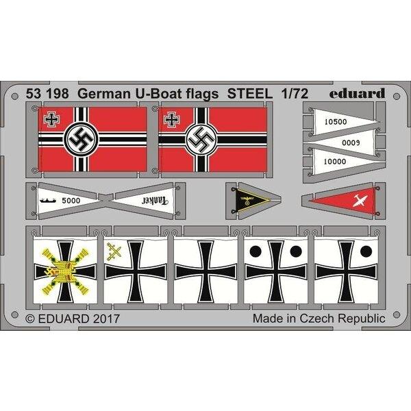 Bandiere U-IXC a U-Boot STEEL (progettato per essere utilizzato con i kit di Revell)