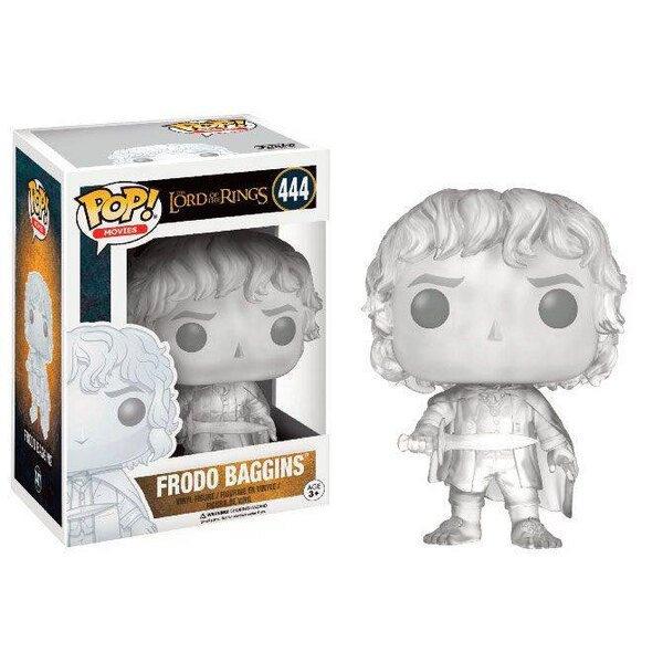 Lord of the Rings POP! Movies Vinyl Figure Frodo Baggins (Invisible) 9 cm