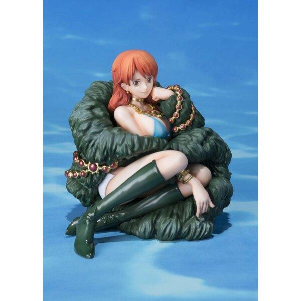 One Piece FiguartsZERO PVC Statue Nami 20th Anniversary Ver. 8 cm