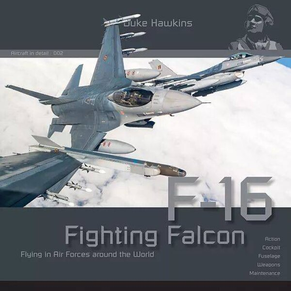 Libro Duke Hawkins: Fighting Falcon F-16