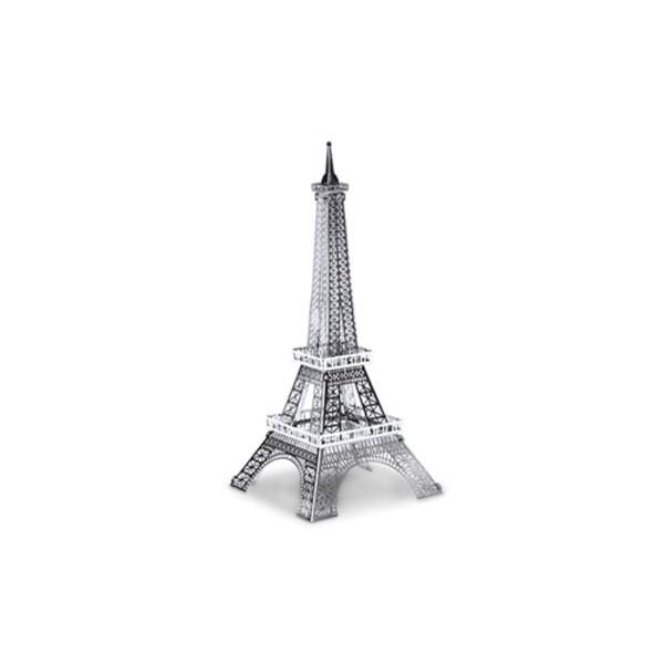 Architettura MetalEarth: TOUR EIFFEL 11.39x4.06x3.96cm, modello in metallo 3D con 1 foglio, su carta 12x17cm, 14+