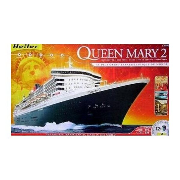 Queen Mary II 1:600