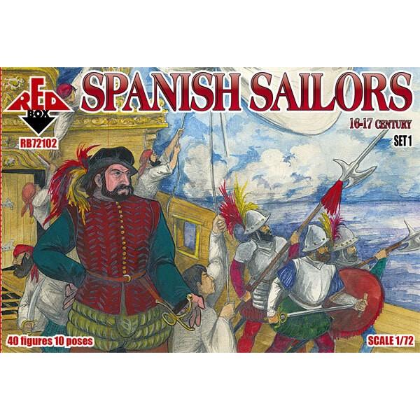 Marinai spagnoli 16-17 secolo