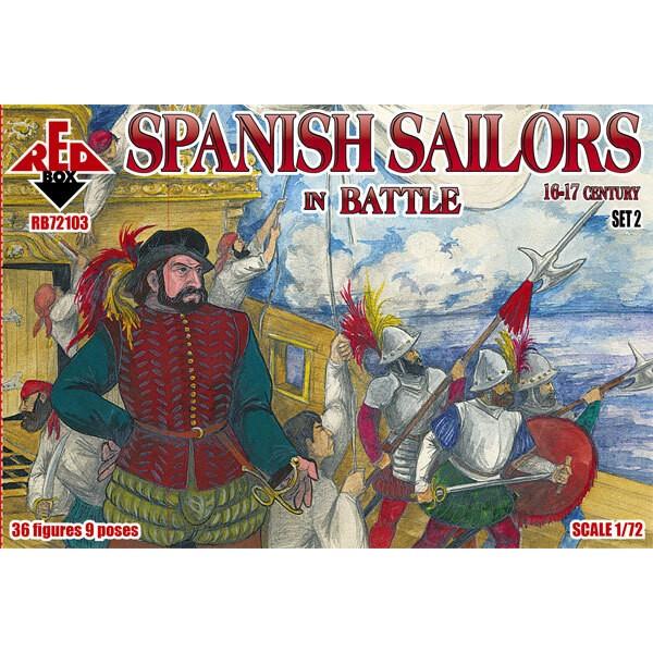 Marinai spagnoli a Battle 16-17 ° secolo