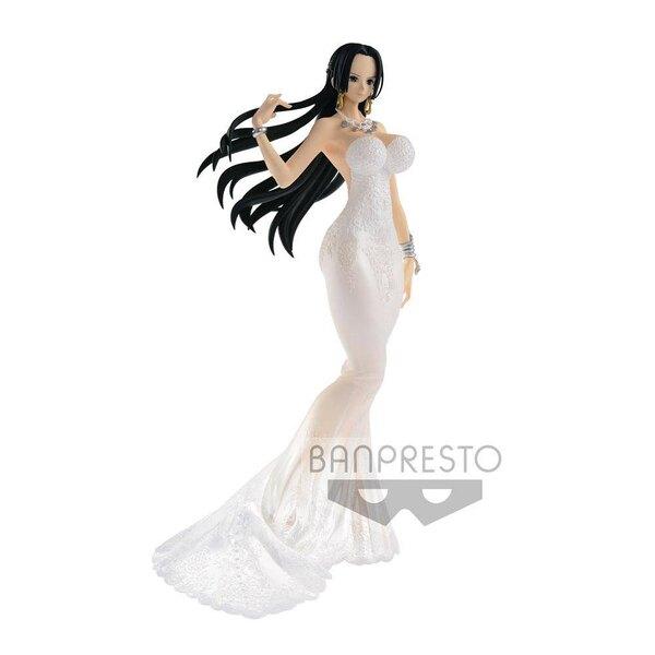 One Piece Lady Edge Wedding Figure Boa Hancock Normal Color Ver. 25 cm