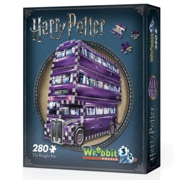 Puzzle Harry Potter 3D Puzzle The Knight Bus