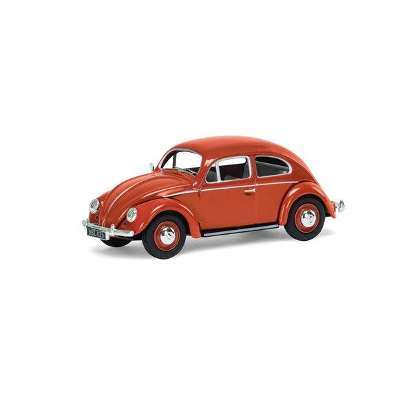 VW Beetle, lunotto posteriore color corallo