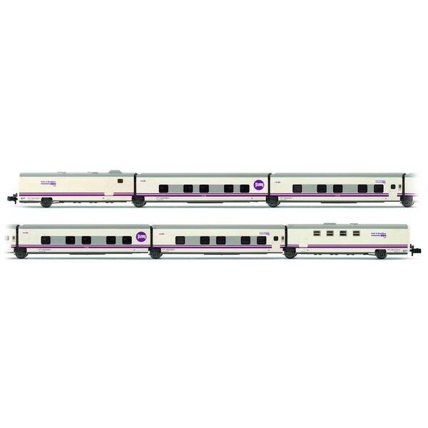 6 pezziCar Set TALGO Bed & Breakfast del RENFE, Ep.V