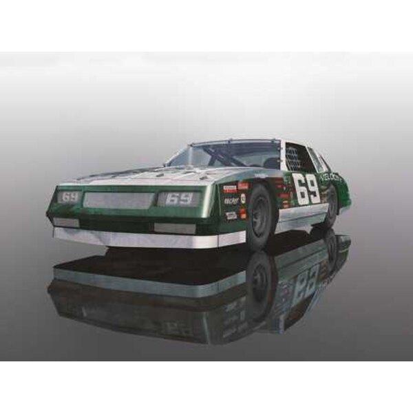 Chevrolet Monte Carlo 1986 - Rosso e bianco [NUOVI STRUMENTI 2018]
