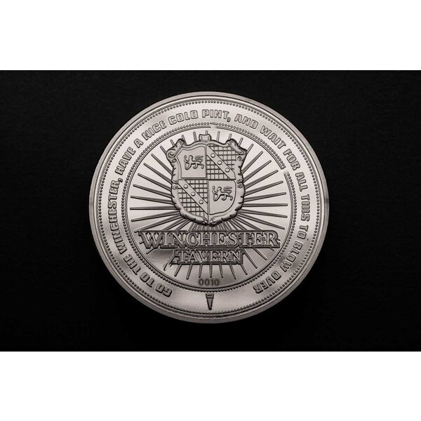 Shaun of the Dead Collectable Coin 25th Anniversary (silver plated)