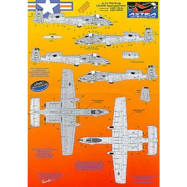 Fairchild A-10A Spagdahlem. For any grey A-10 Revised