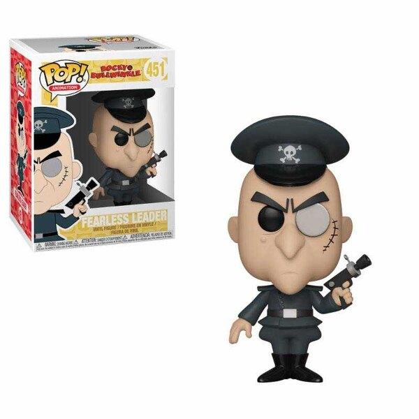 The Adventures of Rocky and Bullwinkle POP! Movies Vinyl Figure Fearless Leader 9 cm