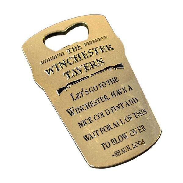 Shaun of the Dead Bottle Opener Winchester Tavern