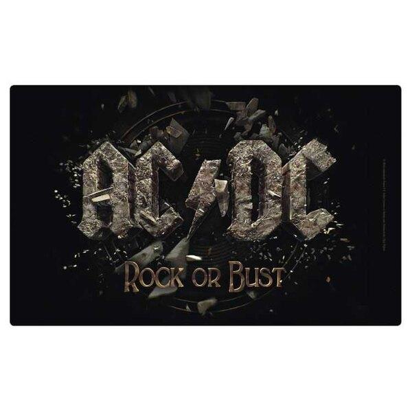 AC/DC Cutting Board Rock Or Bust