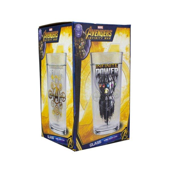 Avengers Infinity War Colour Changing Glass Infinite Power