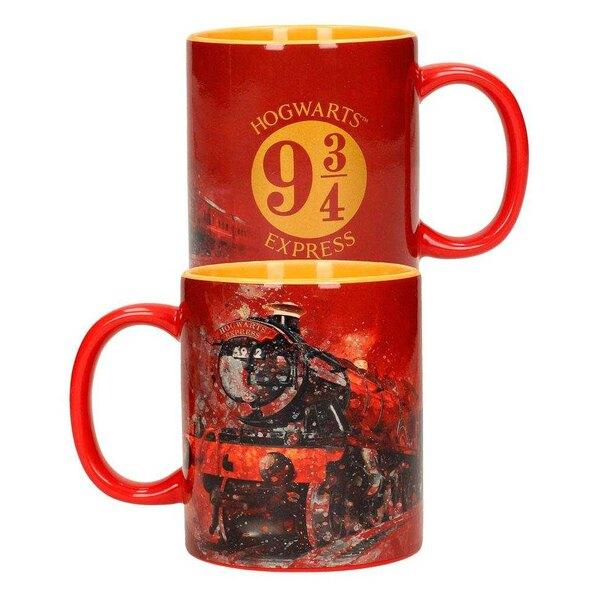 Harry Potter Mug 2-Pack Logo & Hogwarts Express