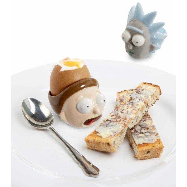 Rick & Morty confeziona 2 portauova in ceramica Rick & Morty