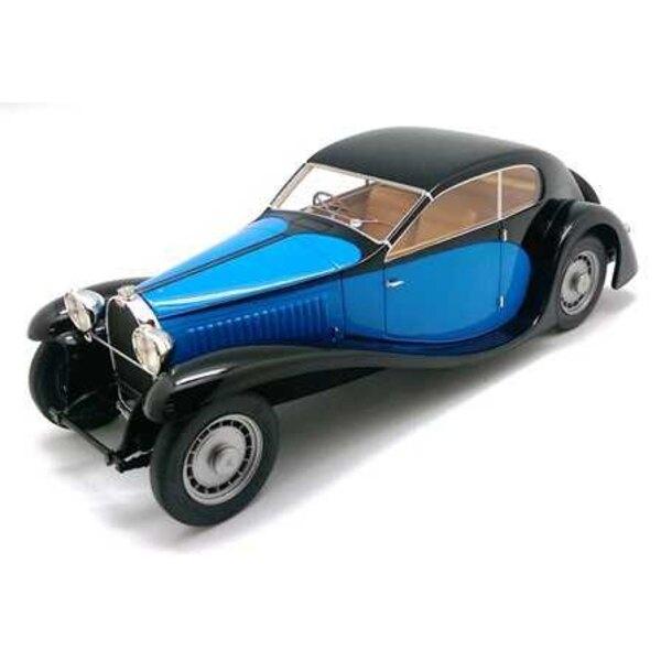 Bugatti Type 46 PROFILO 1933 nero / blu