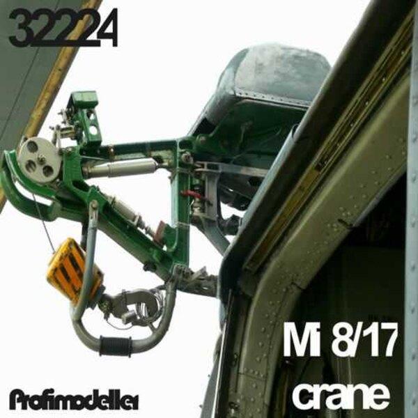 Mil Mi-8MT / Mi-17 Hip-H Helicopter gru (progettato per essere utilizzato con i kit del trombettista)