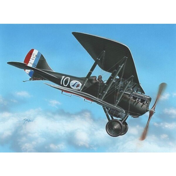 Nieuport NiD 29: Decals 2 x France and 1 x Belgium. More than 700 built in France