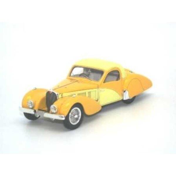 Bugatti Type 57C Atalante 1937 SN57551 GIALLO 2 TONNELLATE