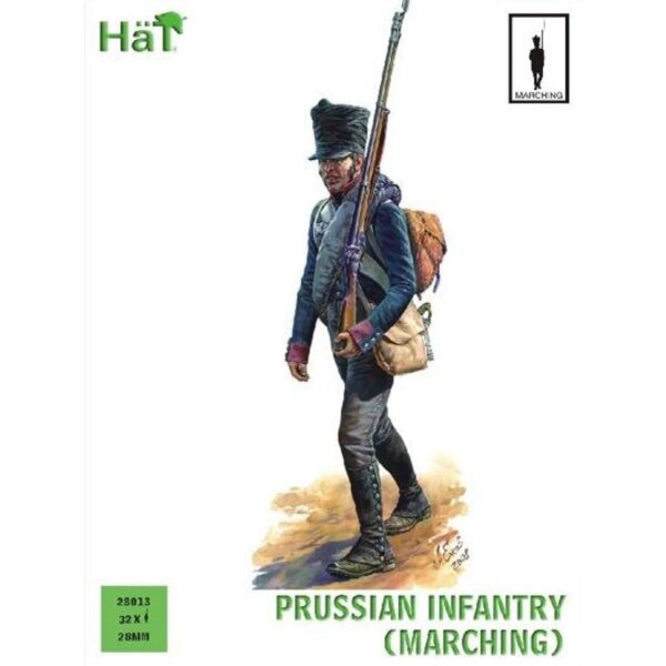 Prussian Infantry Marching (Napoleonic Period)