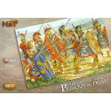 republican romans - princeps and triari. 48 infantry 20 princeps with pilum 16 with triari with spea