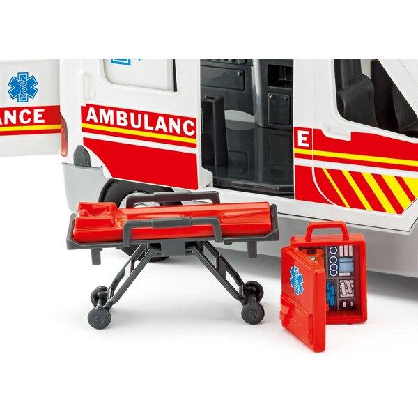 Ambulanza con figurina