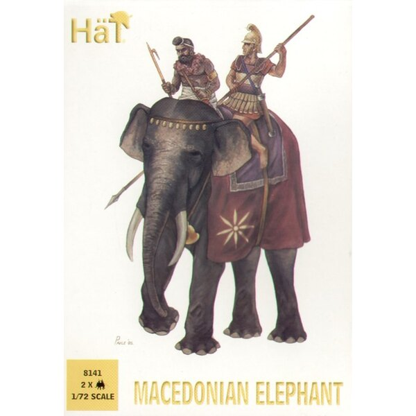 Macedonian Elephant x 3 elephants per box