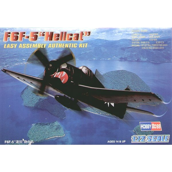 Grumman F6F-5 Hellcat Easy Build with 1 piece wings and lower fuselage 1 piece fuselage. Other parts as normal. Optional open/cl