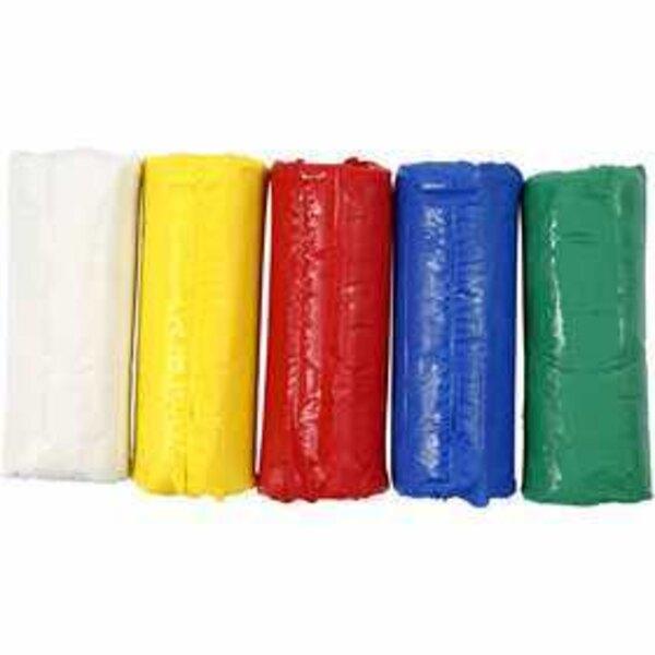 Pasta modellabile, H: 9,5 cm, diam: 10 cm, colori asst., 400g