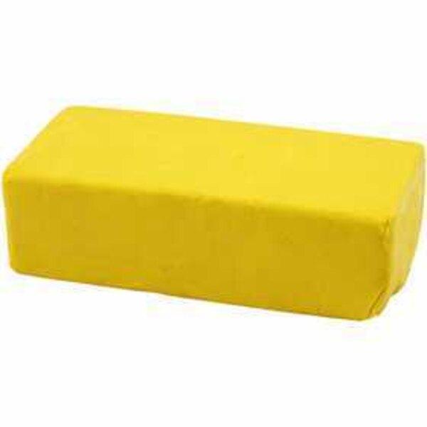 Pasta modellabile, misura 13x6x4 cm, giallo, 500g