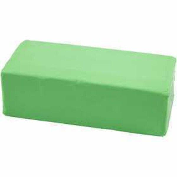Pasta modellabile, misura 13x6x4 cm, verde neon, 500g