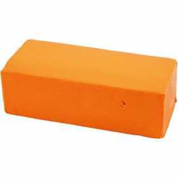 Pasta modellabile, misura 13x6x4 cm, neon orange, 500g
