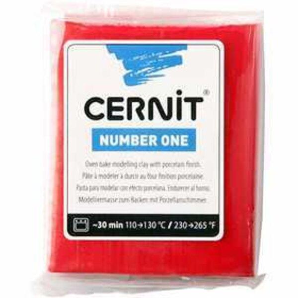 Cernit, rosso natalizio (463), 56g