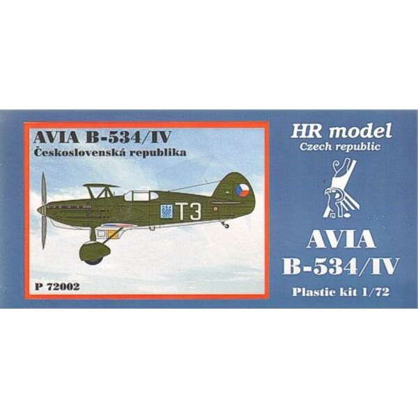 Avia B-534/IV. Decals CSR with photo-etched parts