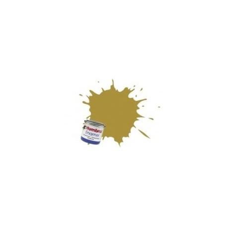Ocra smalto - opaco (Ochre enamel - matt)