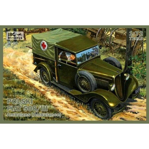 Polski Fiat 508/III Ambulance