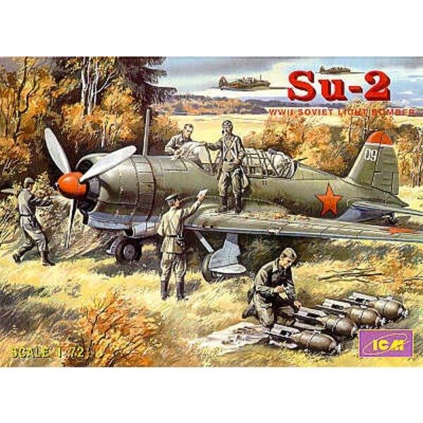 Sukhoi Su-2 WWII Soviet Light Bomber