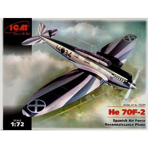 Heinkel He 70F-2 Spanish Air Force