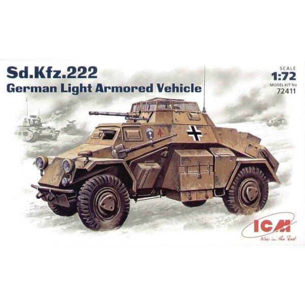 Sd.Kfz.222 German Light Armoured Vehicle